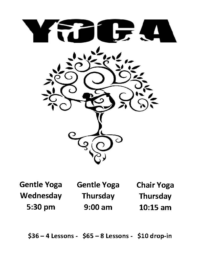 Yoga and Chair Yoga 2019
