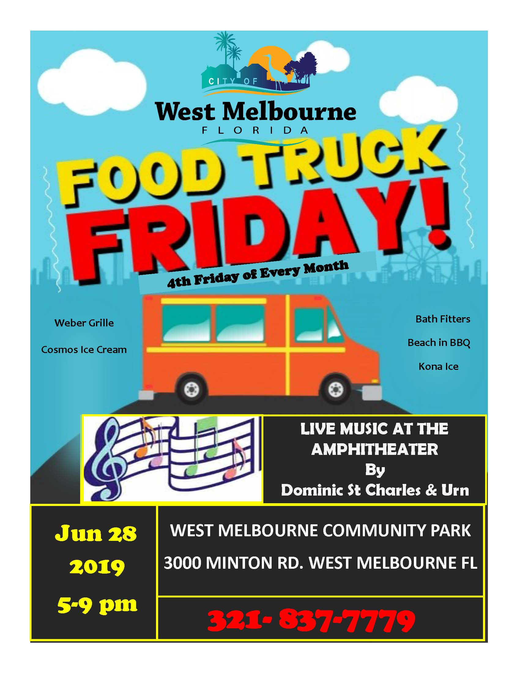 Food Truck Friday Flyer 6 28 19
