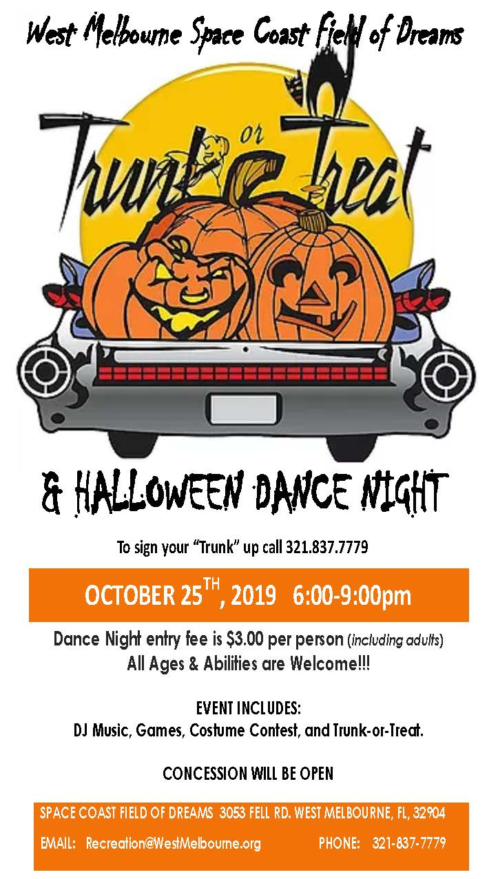 Trunk or Treat Dance