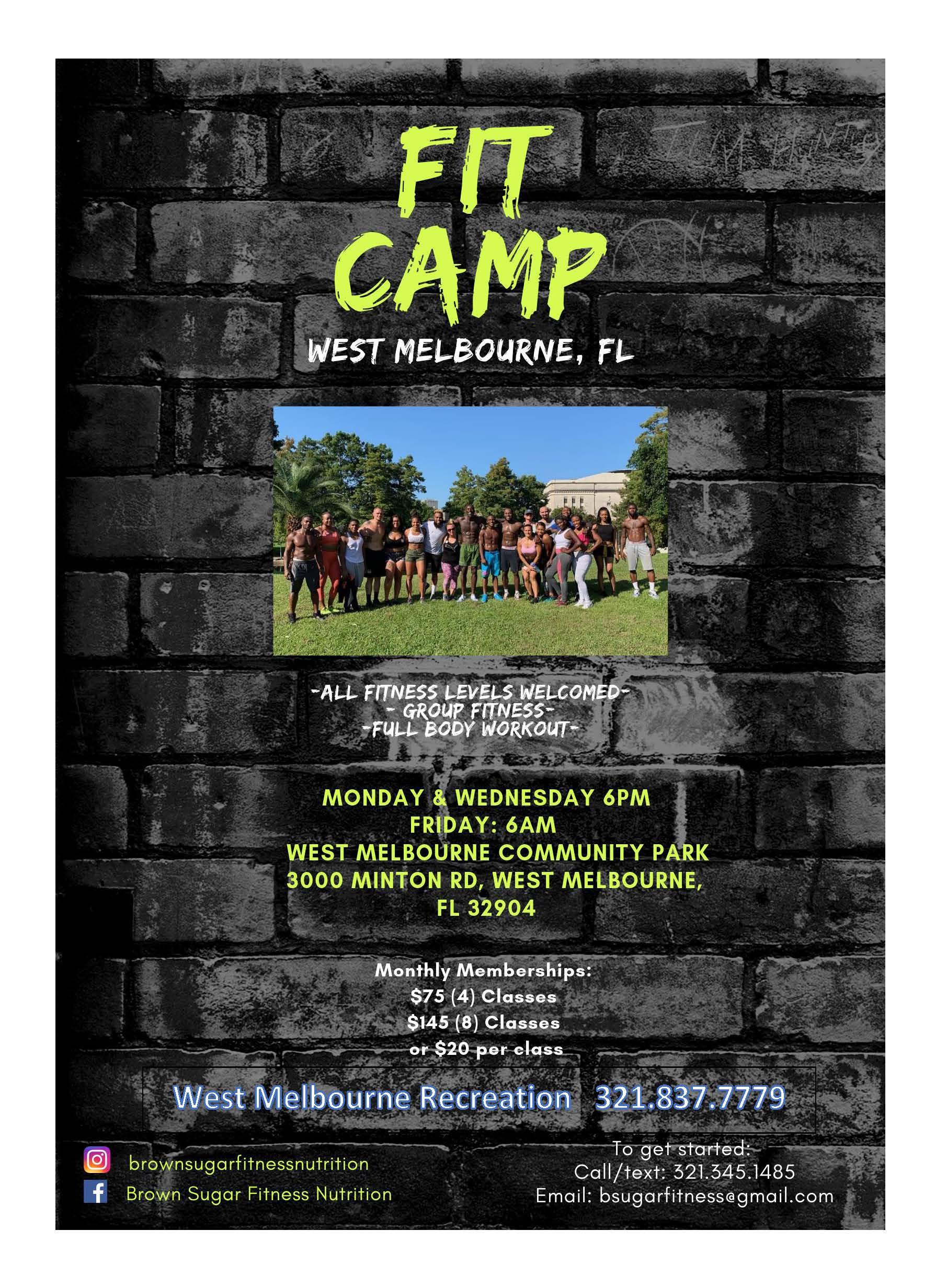 Fit Camp wm info